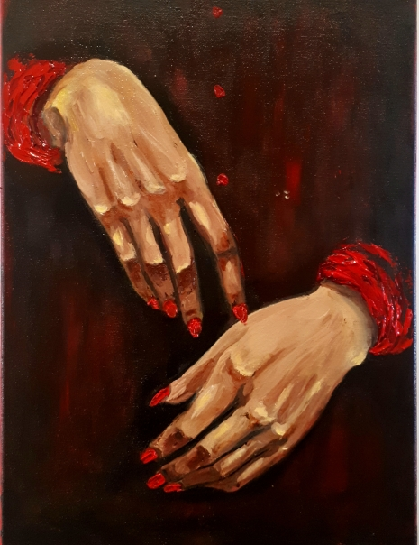 Red Handed, Oil